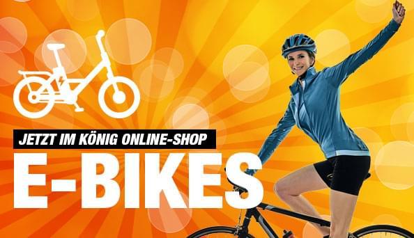 Fahren Sie sportlich, nachhaltig und umweltbewusst mit einem E-Bike!
