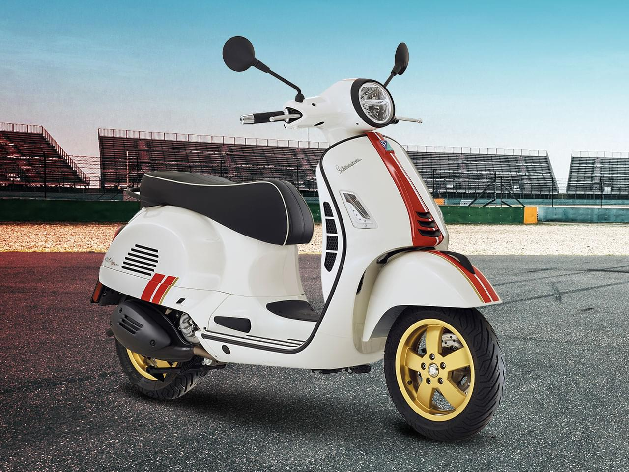Vespa GTS Super Racing Sixties 125 i-get ABS