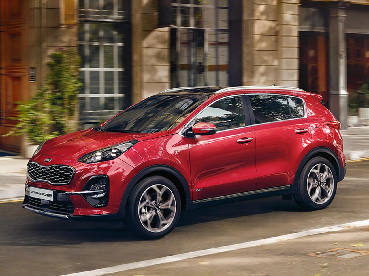 Kia Sportage Edition 7 1.6 GDI inkl. Emotion-Paket