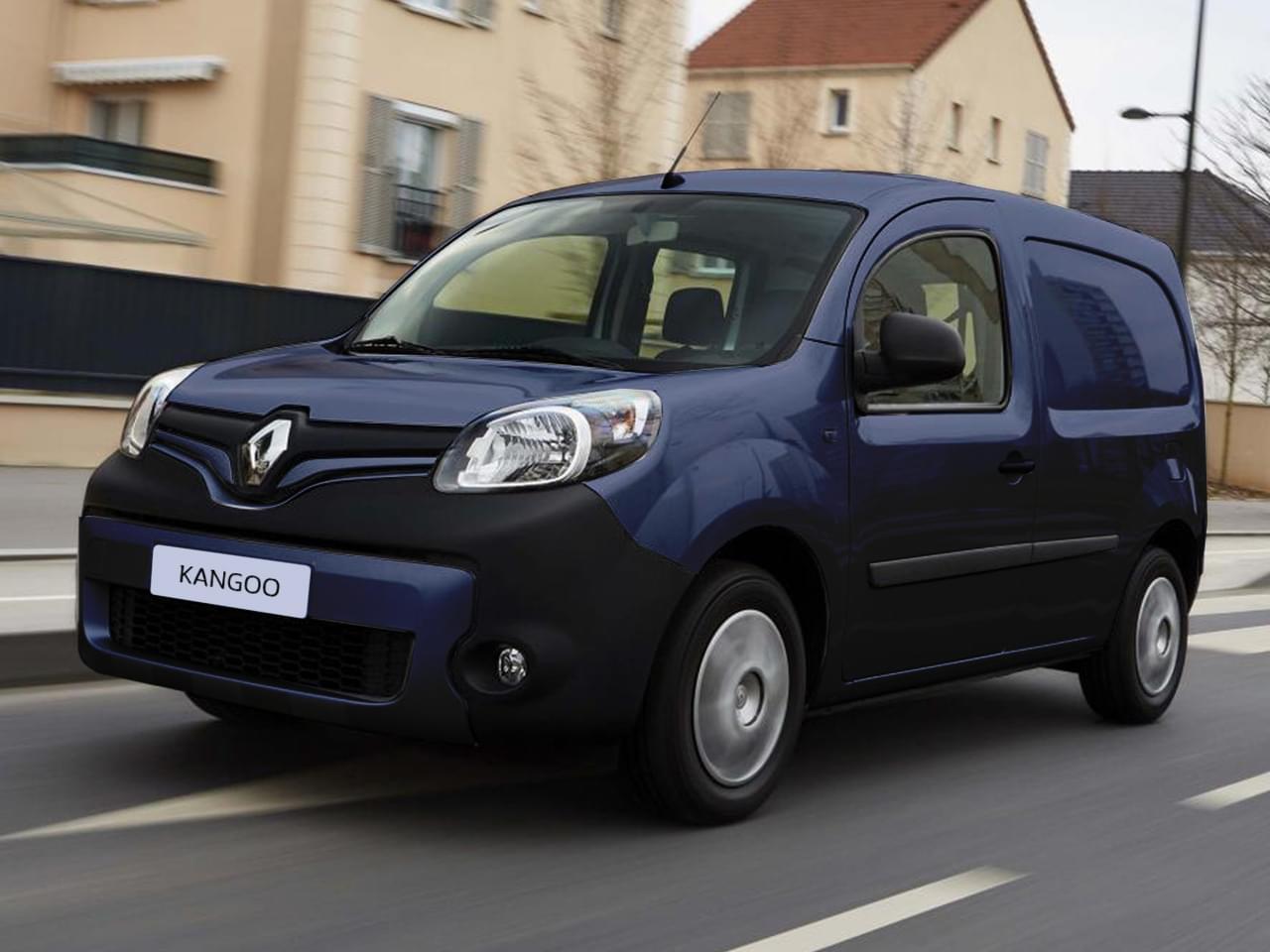 Renault Kangoo Transporter Rapid Extra Blue dCi 95