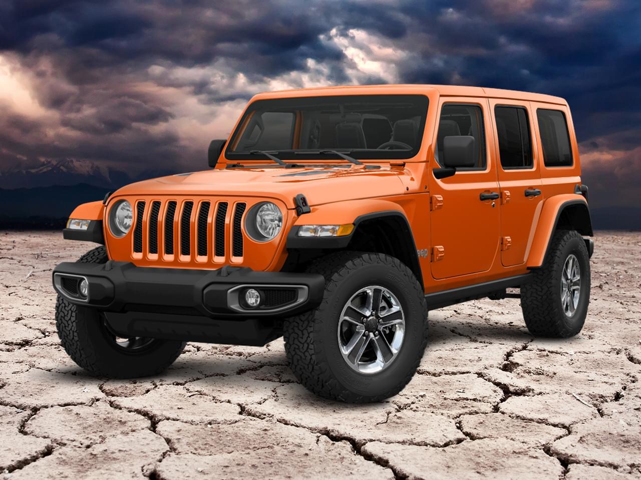 Jeep Wrangler Unlimited 2.2 CRDi Sahara 200PS 4x4 AT8