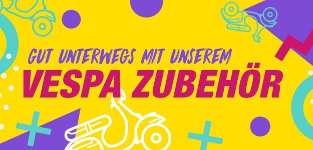 Vespa Zubehör und Kleidung für die perfekte Vespa-Tour