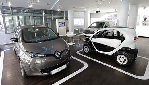 Das neue Fachzentrum für Elektromobilität im Herzen Berlins.