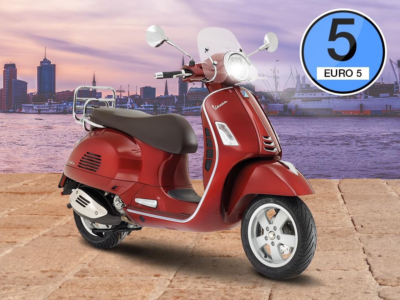 Vespa GTS Touring 300 HPE ABS ASR - Modell 2021