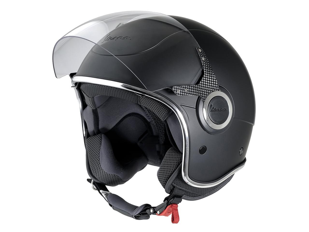 Vespa Helm mit Visier