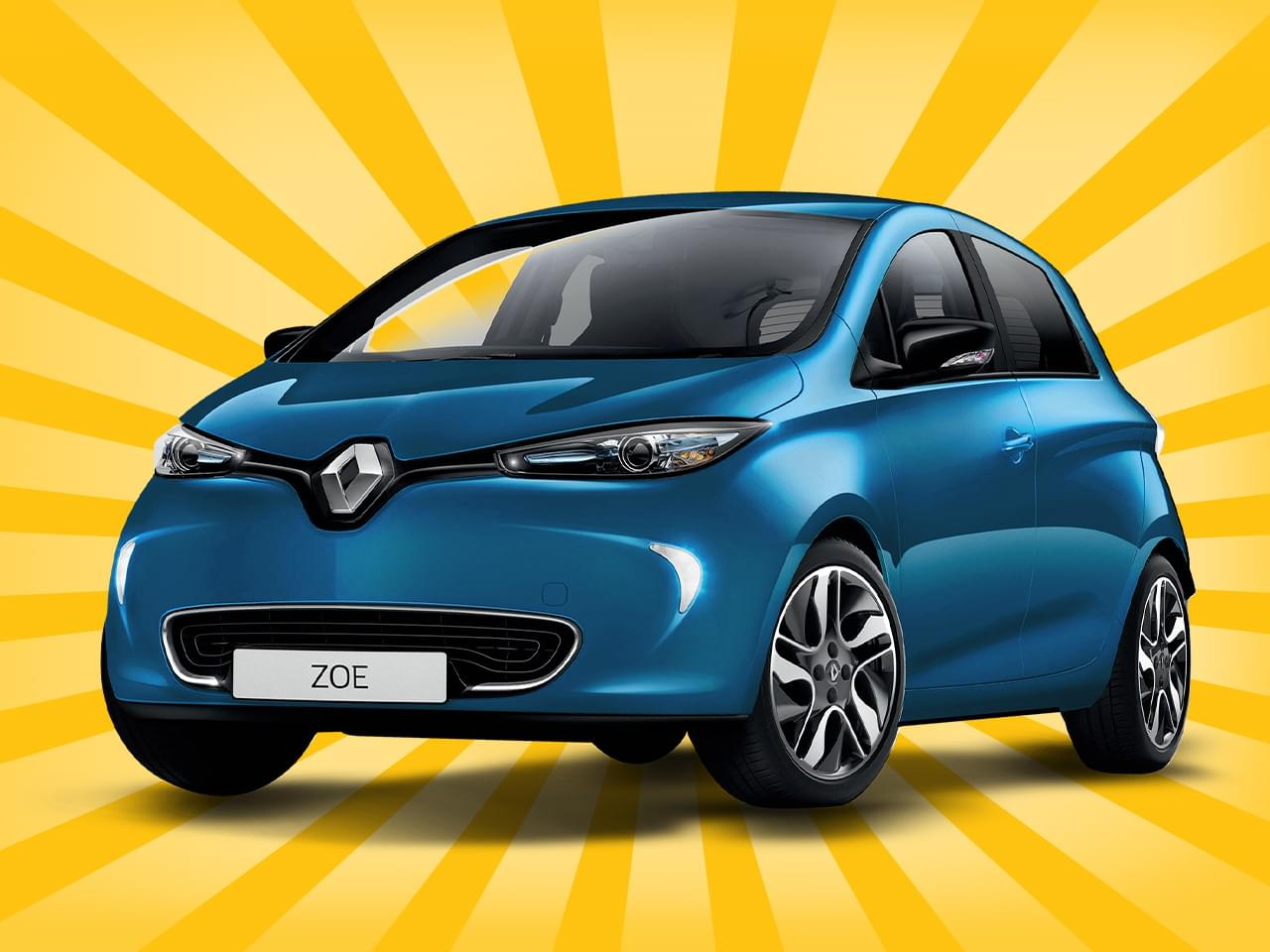Renault Zoe Limited ADAC Z.E. 40 inkl. Batteriemiete