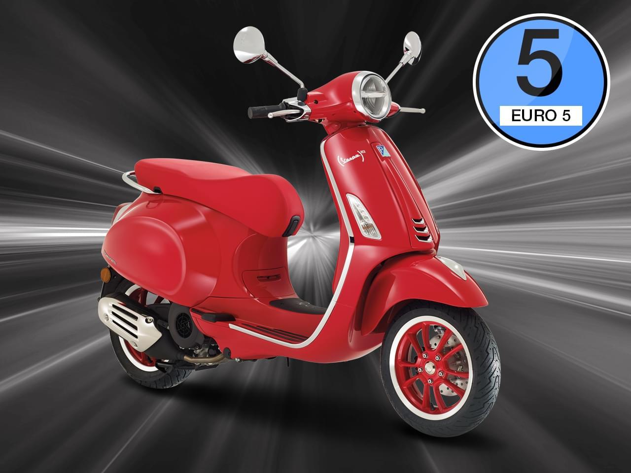Vespa Primavera Product RED 125 3V i-get ABS