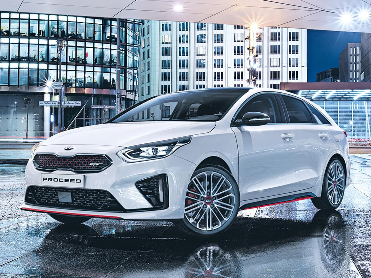Kia Proceed GT 1.6 T-GDI - Automatik