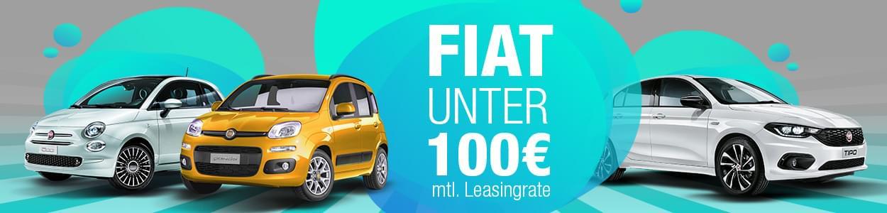 Fiat Modelle für nicht mal 100 Euro