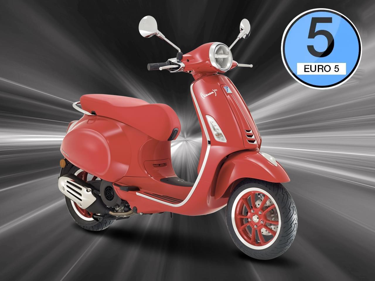 Vespa Primavera Product RED 125 3V i-get ABS - Modell 2021