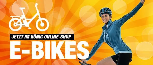 Jetzt E-Bike online kaufen