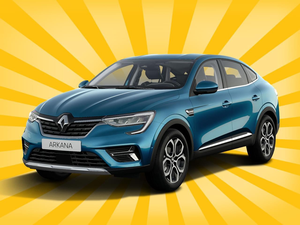 Renault Arkana Testleasing Intens TCe 140 EDC Automatik