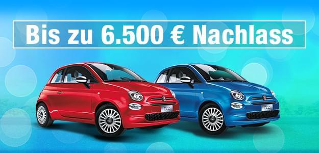 Unsere Fiat 500 Aktionsmodelle